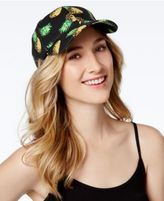 INC International Concepts Cotton Pineapple Baseball Cap, Only at Macy's