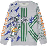 Kenzo Embroidered tiger logo jumper 4-16 years