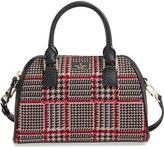Kate Spade Prospect Place Small Pippa Houndstooth Crossbody Satchel