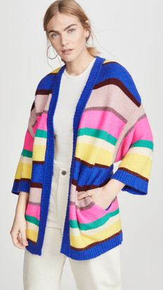 Essentiel Antwerp Vallista Striped Cardigan