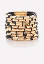 Bebe Tube Bead Strand Bracelet