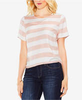 Vince Camuto Striped Short-Sleeved Shirt