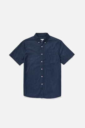 Saturdays NYC Esquina Button Down Denim Shirt