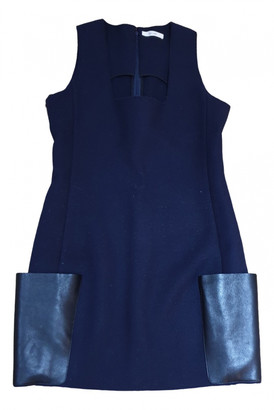 Celine Blue Wool Dresses