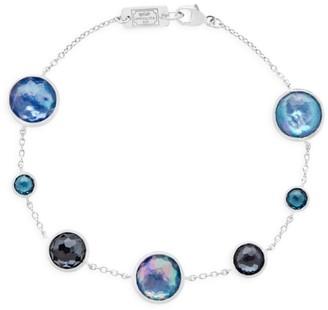 Ippolita Lollipop Sterling Silver & Multi-Stone Link Bracelet