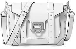 MICHAEL Michael Kors Women's Small Manhattan Leather Crossbody Bag