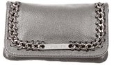 Michael Kors Metallic Chain-Embellished Clutch