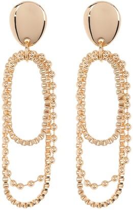 14th & Union Layered Chain Drop Earrings