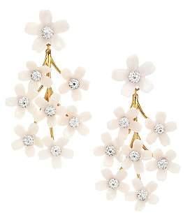 Lele Sadoughi Women's Garden Bouquet Crystal Chandelier Earrings