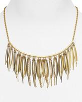 "Rebecca Minkoff Needle Statement Collar Necklace, 12"""