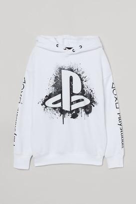 H&M Printed hoodie