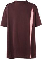 Raf Simons bleached oversized T-shirt - men - Cotton - M