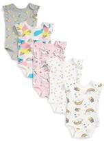 Infant Girl's Rosie Pope 5-Pack Print Bodysuits