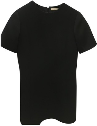 Celine Black Wool Dresses