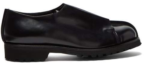 Grenson X Craig Green Leather Derby Shoes - Mens - Black