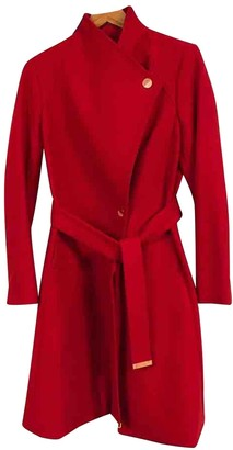 Ted Baker Red Wool Coat for Women