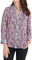 Foxcroft Mary In Garden Party Shirt (Petite)