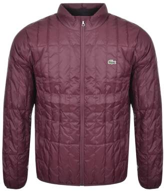 Lacoste Packable Down Jacket Burgundy