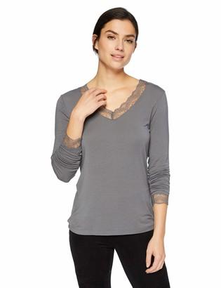 Hanro Women's Silea Long Sleeve Shirt