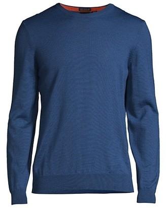 HUGO BOSS Botto Virgin Wool Crew Sweater