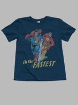 Junk Food Clothing Toddler Boys I'm The Fastest Tee-new Navy-2t