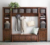 Pottery Barn Benchwright 4-Piece Entryway Set with Storage Bench