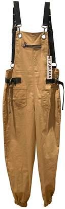 I.AM.GIA Khaki Polyester Trousers