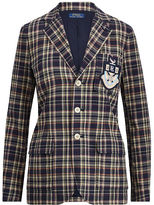 Polo Ralph Lauren Cotton Madras Blazer