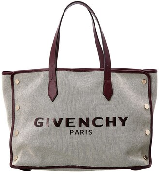 Givenchy Bond Medium Embossed Leather Tote