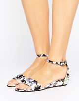 Paper Dolls Two Strap Wedge Sandal