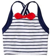 Girls Red White Blue Tankini Top