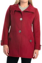 Kristen Blake Australian Wool Coat - Funnel Neck (For Women)