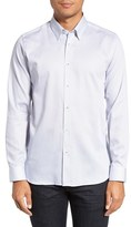 Ted Baker Men's 'Patches' Modern Trim Fit Sport Shirt