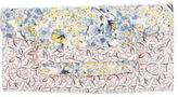 LK Bennett Canvas Floral Clutch