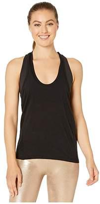 Beyond Yoga Draw The Line Tank (Black) Women's Clothing