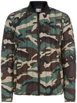 Sandro Lightweight Camouflage Puffer Jacket