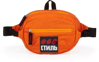 Heron Preston Men's CTNMB Dots Logo Belt Bag/Fanny Pack