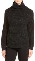Nordstrom Women's Rib Knit Cashmere Turtleneck