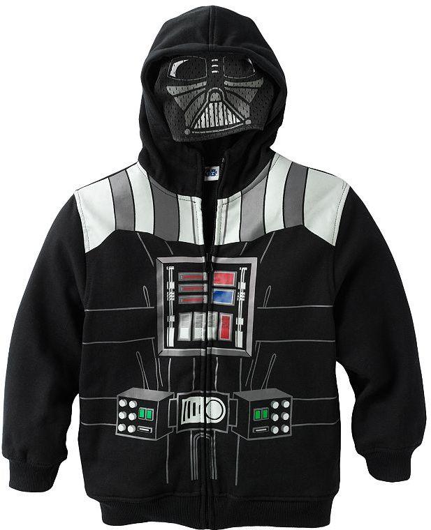 Star Wars darth vader costume hoodie - boys 4-7