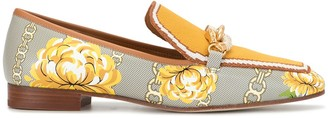 Tory Burch Jessa floral-pattern loafers