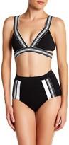 Jets V-Neck Bikini Top