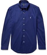 Polo Ralph Lauren Slim-Fit Button-Down Collar Cotton-Poplin Shirt