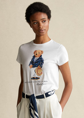 Ralph Lauren Mariner Polo Bear Cotton Tee