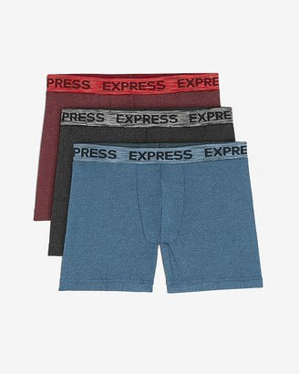 Express 3 Pack Multi-Color Boxer Briefs
