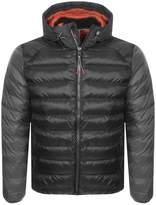 Barbour Jib Quilted Jacket Black