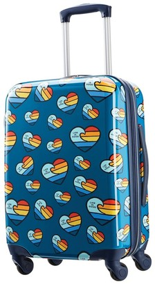 "American Tourister + Life is Good 20"" Carry On Spinner Suitcase -"