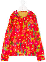 Oilily printed long-sleeved blouse