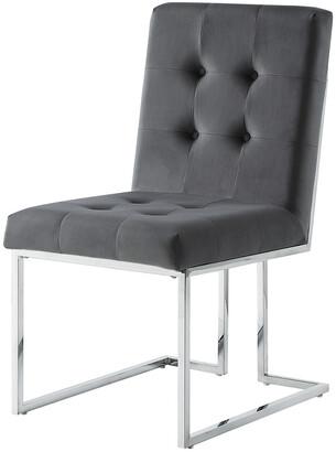 INSPIRED HOME Set Of 2 Cecille Velvet Dining Chair