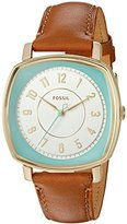 Fossil Women's ES3996 Visionist Light Brown Leather Watch