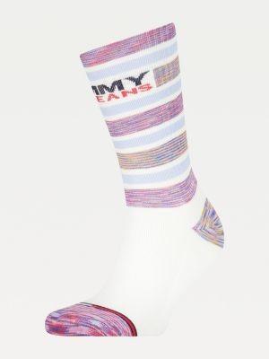 Tommy Hilfiger Stripe Mixed Texture Socks